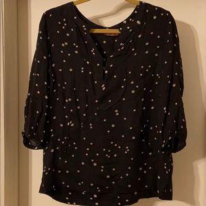 Comptoir Des Cottoniers polka dot blouse